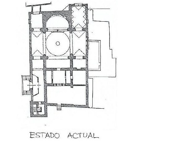 Planta de la iglesia de San Miguel (PE)