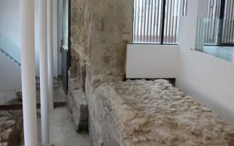 Integración de la muralla y restos romanos (DPT)