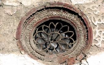 Ojo de buey en la fachada principal (JmGM)