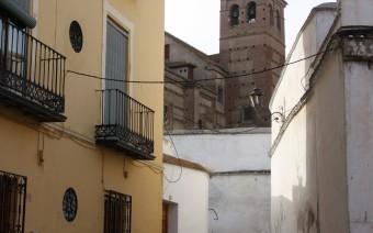 Trasera del convento e iglesia de la Concepción (MR)