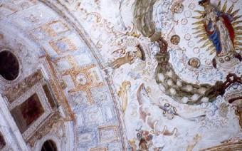 Bóveda del crucero de la iglesia (PE)