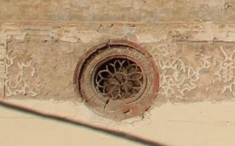 Ojos de buey de la fachada de la iglesia (MR)