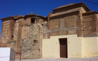 Medianería del convento y la iglesia (JmGM)
