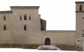 Fotogrametría de la fachada lateral (IS)