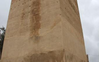 Imagen actual de la torre tras la restauración (MR)