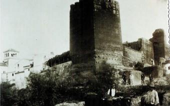 Torreón en una postal de finales del siglo XIX