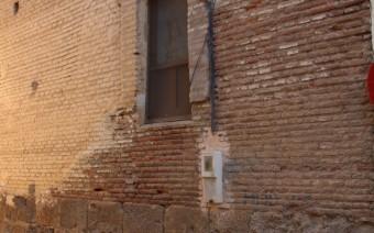 Fachada lateral de la iglesia (MR)