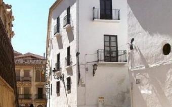 Esquina del edificio desde la calle Sta. María del Buen Aire (PE)