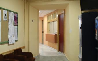 Pasillo tras la transformación en Escuela de Artes y Oficiso (MR)