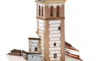 Fotogrametría de la torre y cabecera de la iglesia (EC)