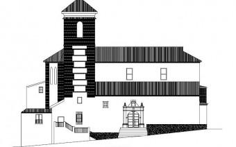 Alzado de la fachada lateral (PE)