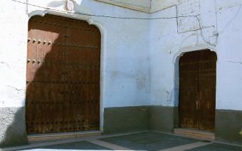 Entrada a la iglesia y el convento