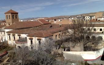 Vista general y estado actual del convento (EG)