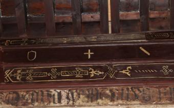Detalle del artesonado de la habitación principal (JmGM)