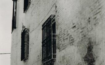 Fachada del palacio antes de las intervenciones