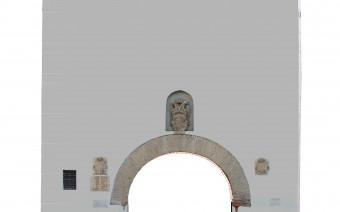 Exterior de la puerta de San Torcuato