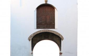 Interior de la puerta de San Torcuato