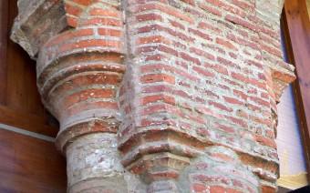 Detalle de las pilastras y columnas (JmGM)