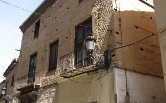 Fachada principal en la calle Santiago (JmGM)