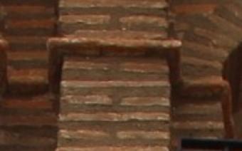 Detalle de la galería y cornisa (MR)