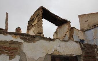 Restos de la casa en avanzado estado de ruina (MR)