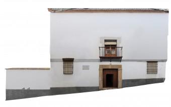 Fotogrametría de la fachada principal