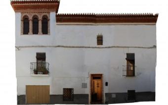 Fotogrametría de la fachada de la calle Real de la Magdalena 5