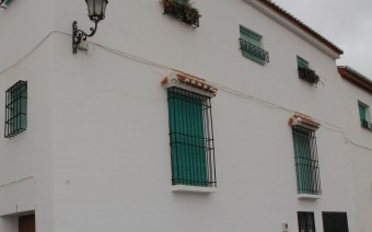 Fachada de la calle Alarcón (MR)