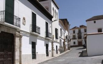 Calle Alamo con la sucesión de palacios (JmGM)