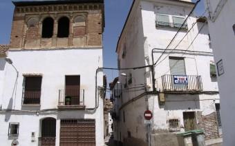 Torreones de dos palacios contiguos (JmGM)