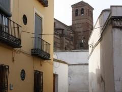 Fachada principal y convento-iglesia de la Concepción (MR)