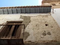 Detalle de la fachada  y alero (MR)