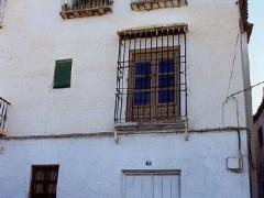 Detalle de la fachada antes de la restauración (PE)