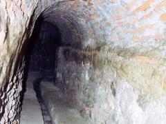 Caño para el abastecimiento de agua que llega hasta el convento (PE)