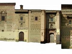 Fachada principal del convento e iglesia (JP)