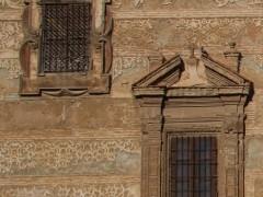Detalle de vanos de la fachada de principal (MR)