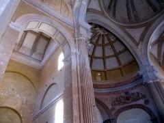Interior de la cabecera de la iglesia (JmGM)