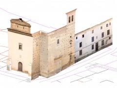 Fotogrametría de la iglesia y colegio de los jesuitas (IS)