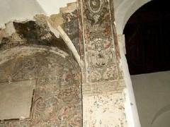 Restos de los frescos del interior (PE)