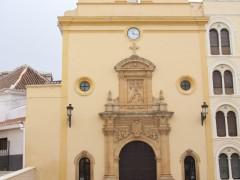 Fachada principal de la iglesia de las Angustias (EC)
