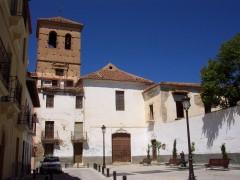 Fachada de la iglesia y el convento (JmGM)