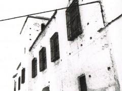 Fachada del palacio antes de las intervenciones (RP)