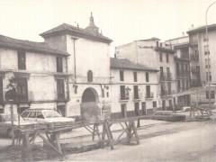 Imagen antigua de la puerta de San Torcuato (RP)