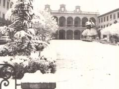 Imagen antigua de la plaza nevada (RP)