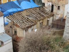 Trasera de la vivienda desde la muralla de la medina (MR)