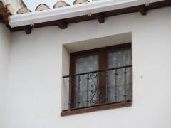 Detalle de la ventana y alero (MR)