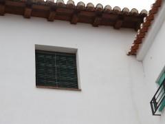 Detalle del alero y ventana (MR)