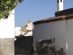 Vista de la Magdalena desde la plaza del Álamo (MR)