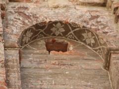 Detalle de hornacina de la fachada Oeste (MR)