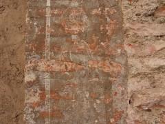 Detalle de una pilastra de la fachada Oeste (MR)